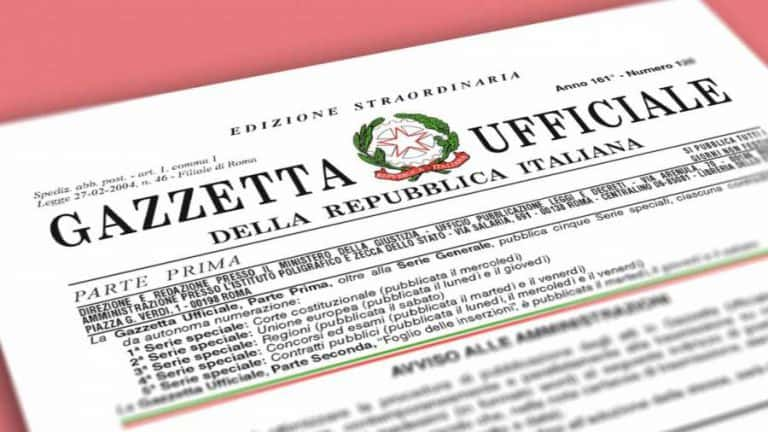 pubblicato decreto cura italia